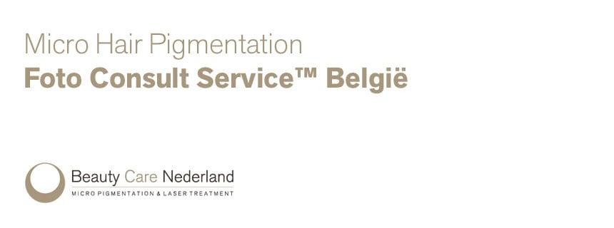 Micro Hair Pigmentation Foto Consult Service België - Beauty Care Nederland